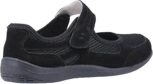 Fleet & Foster Morgan Shoe Ladies Summer Black